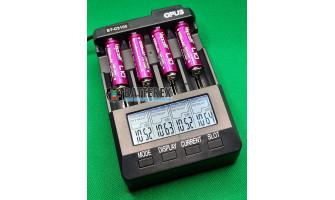 Тест ёмкости аккумуляторов 14500 Vapcell 1050mah