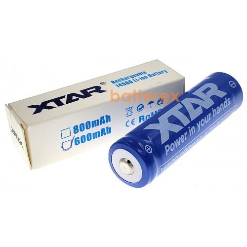 14500 XTAR 600mah 3,7V 2A Protected (с защитой)