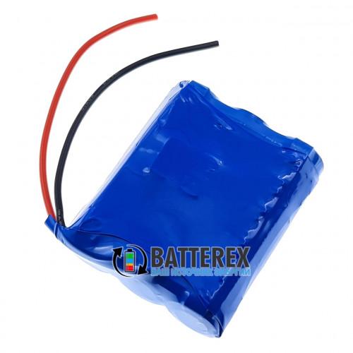 Сборка 3S 12V 10A 3500mah (3x 18650 LG MJ1 3500mah) + BMS 3S FL15A с балансировкой + силиконовые провода и термоусадка