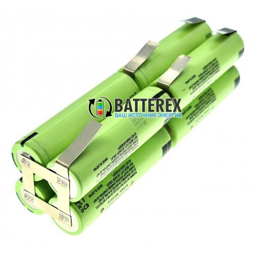 Сборка 4S2P 16V для пылесосов RoboRock 3-го поколения из 8 аккумуляторов 18650 Panasonic NCR18650PF 2900mah 10А