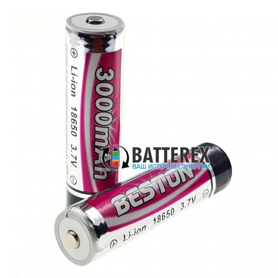 Аккумулятор 18650 для фонаря Beston 3000mah 3,7V Protected с платой защиты