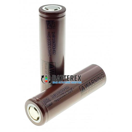 """Аккумулятор высокотоковый 18650 LG HG2 3000mAh 20A """"шоколадка"""""""