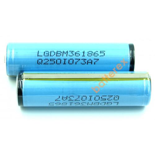 18650 LG INR M36 3600mah 10A 3,7V с защитой (Protected)