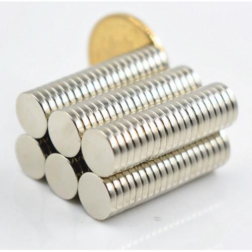 Неодимовый магнит 8х1,5мм