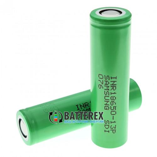 Аккумулятор 18650 Samsung INR 13P 1300mah 15A высокотоковый