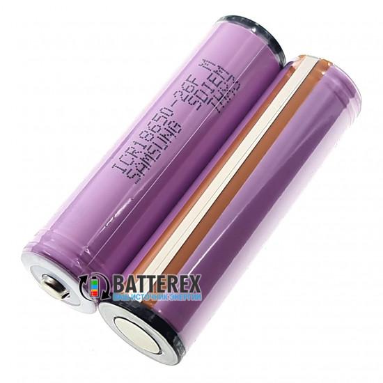 Аккумулятор 18650 Samsung 26F 2600mah 3.7V Protected с PCB-защитой от глубокого разряда