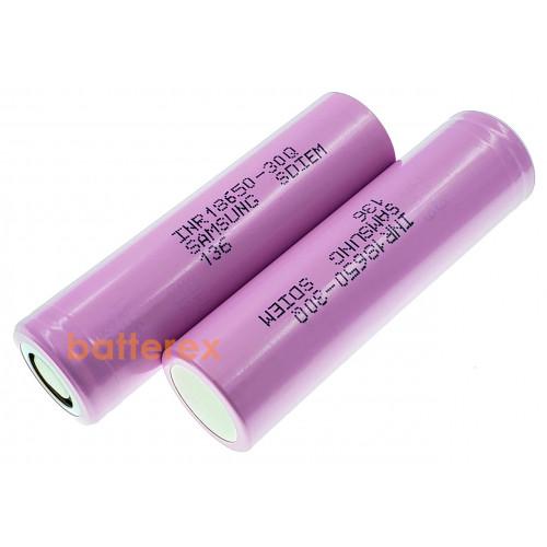 18650 Samsung INR18650-30Q 3000mah 3,7V 15А высокотоковый - оригинал