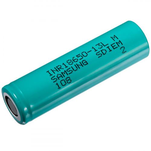 18650 Samsung INR 13L 1300mah 18A без защиты