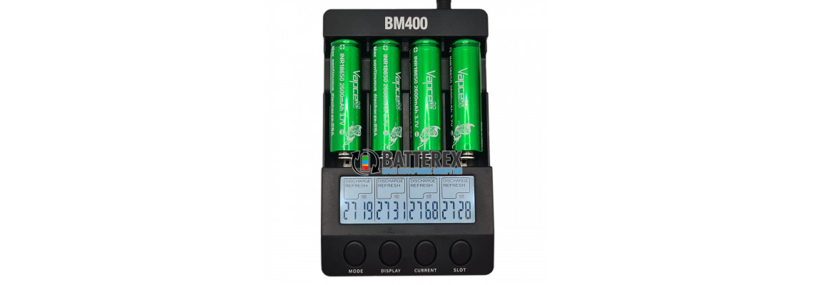 Тест ёмкости высокотоковых аккумуляторов 18650 Vapcell INR 2600mah 25A