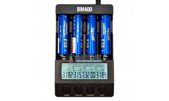 Тест ёмкости аккумуляторов 18650 Vapcell F32 3200mah 10A