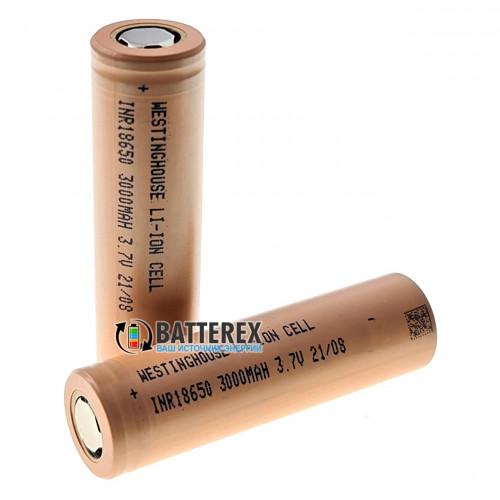 18650 Westinghouse INR18650 3000mah 3.7V 15A высокотоковый (аналог Samsung 30Q)