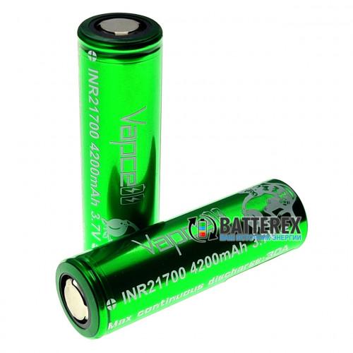 21700 Vapcell INR21700 4200mah 3.7V 30A высокотоковый - реальная ёмкость и токоотдача