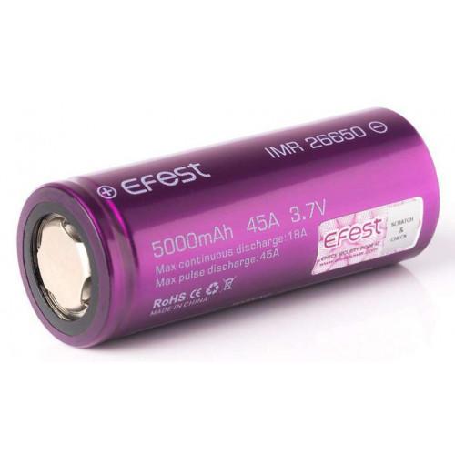26650 Efest IMR 5000mah 45A 3,7V высокотоковый без защиты
