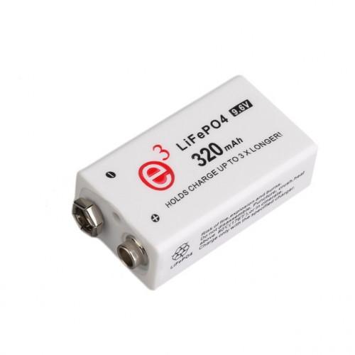 Аккумулятор литиевый Крона LiFePO4 Soshine 9.6V 320 mah