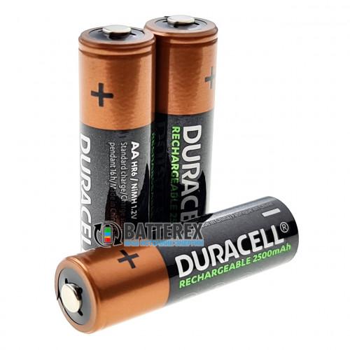 AA Duracell 2500 mah поштучно - цена за 1 шт - оригинал, 2021 год