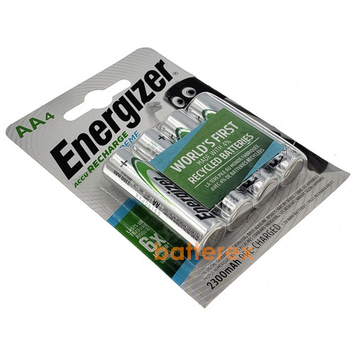 AA Energizer Extreme 2300 mah Pre-Charged - 4 аккумулятора в блистере. Оригинал, Япония.