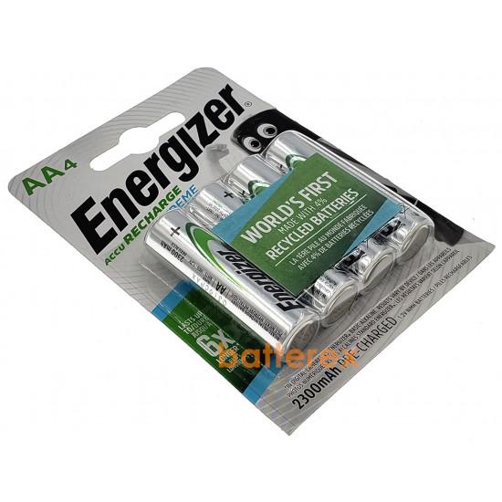 Аккумуляторы AA Energizer Extreme 2300 mah (4 шт. в блистере)