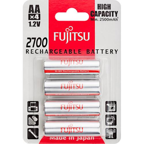 AA Fujitsu High Capacity 2700 mah HR-3UAEU(4B) в блистере (цена за упаковку 4 шт.)