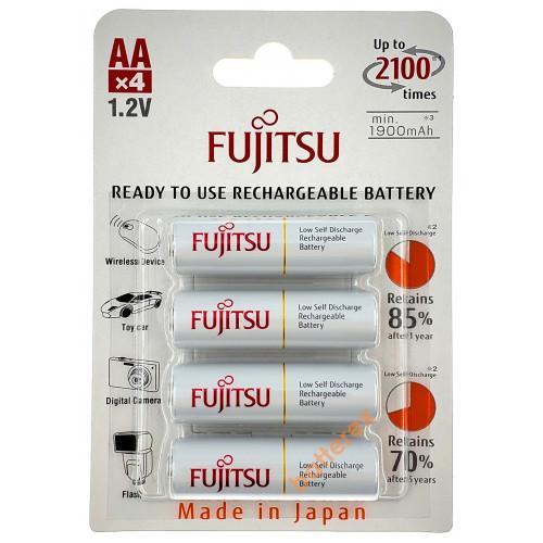 AA Fujitsu 2000 mah (min.1900mah) 2100 циклов HR-3UTCEU(4B) - 4 шт. в блистере