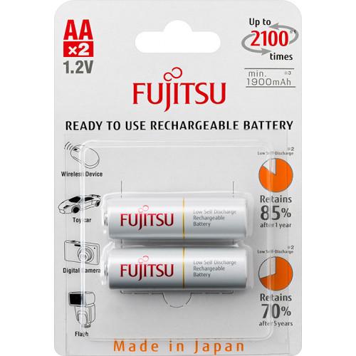 AA Fujitsu 2000 mah (min.1900mah) 2100 циклов HR-3UTCEU(2B) - 2 шт. в блистере