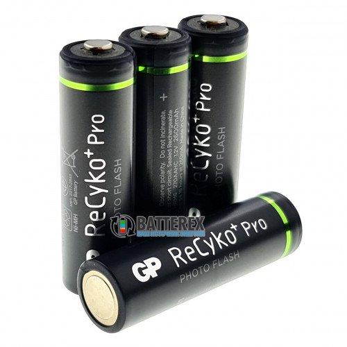 AA GP Recyko Pro 2600mah Photo Flash (высокая токоотдача, низкий саморазряд) - поштучно от 1 шт.