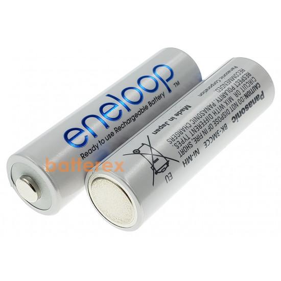 AA аккумуляторы Panasonic Eneloop 2000 mah (min. 1900mah) BK-3MCCE 8 шт. в картонном блистере