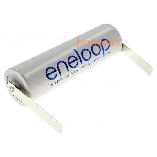 AA Panasonic Eneloop 2000 mah (1900 mah) BK-3MCCE под пайку