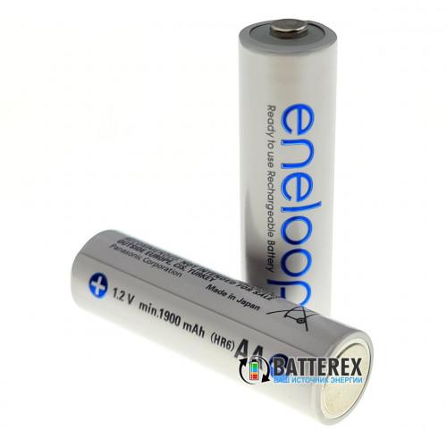 AA Panasonic Eneloop 2000 mah (1900 mah) BK-3MCCE 2100 циклов - поштучно - 2020 г.