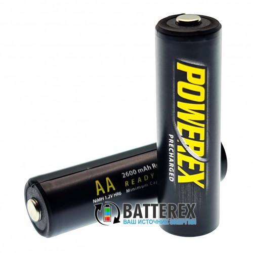 AA Powerex 2600 mah (аналог AA Eneloop Pro) - поштучно - цена за 1 шт.