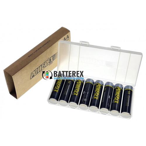 AA Powerex Pro 2700 mah - оригинальная упаковка 8 шт. пластиковом боксе