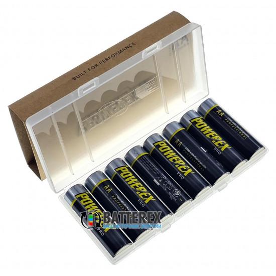 Пальчиковые АА аккумуляторы Powerex Pro 2700 mah - 8 шт. в фирменном боксе Powerex