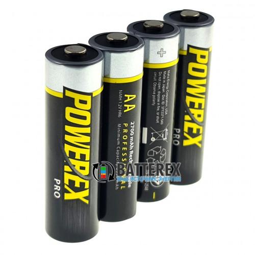 AA Powerex Pro 2700 mah - поштучно - цена за 1 шт.