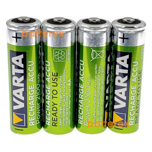 AA Varta R2U 2100 mah Pre-Charged поштучно (цена за 1 шт.).  Оригинал, Германия.