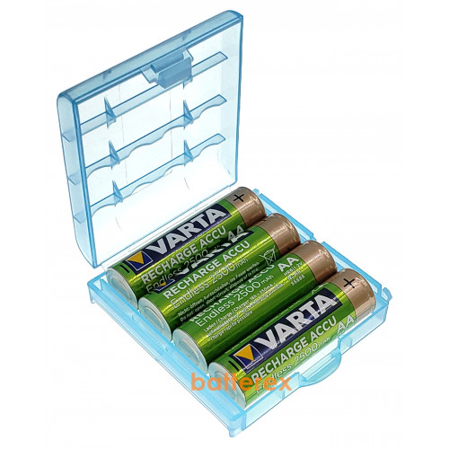 AA Varta Endless 2500 mah Pre-Charged - 4 шт. в пластиковом боксе.  Оригинал, Германия.