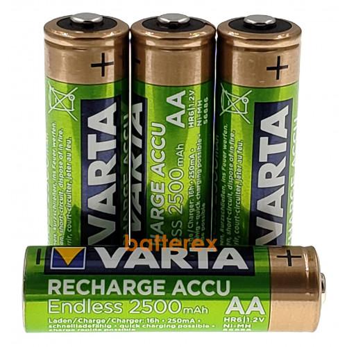 AA Varta Endless 2500 mah Pre-Charged поштучно (цена за 1 шт).  Оригинал, Германия.