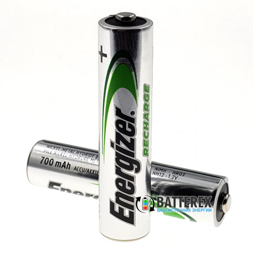 AAA Energizer Power Plus 700 mah Pre-Charged - поштучно от 1 шт. - оригинал, Япония