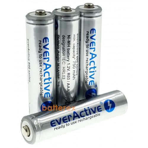AAA EverActive 800 mah Silver Line поштучно (цена за 1 шт.)
