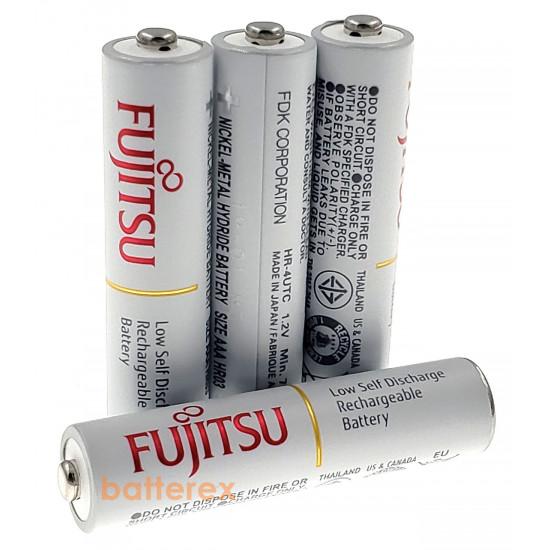 Аккумуляторы AAA Fujitsu 800mah HR-4UTC (min.750mah, 2100 циклов) поштучно