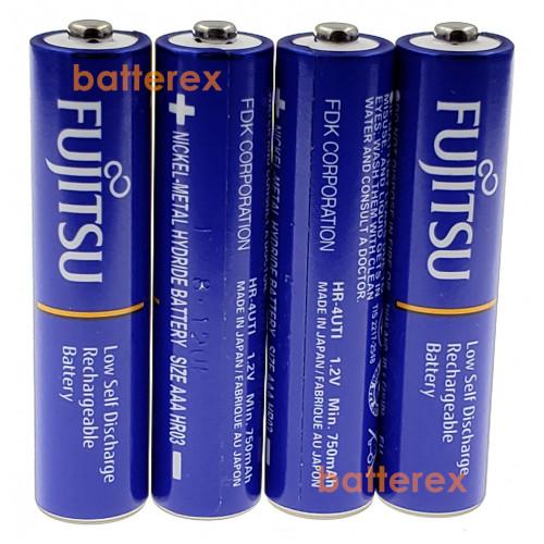 AAA Fujitsu 800mah Blue (min.750mah, 1000 циклов) HR-4UTI поштучно (цена за 1 шт.)