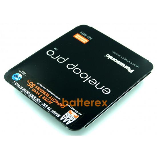 Аккумуляторы AAA Panasonic Eneloop Pro 980mah (min.930mah) BK-4HCDE/4LE Sliding Pack - 4 шт. в пластиковом блистере