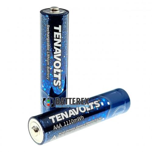 AAA Li-ion Tenavolts 1110mWh 740mah 1,5V - стабильное напряжение 1,5В - поштучно от 1 шт.