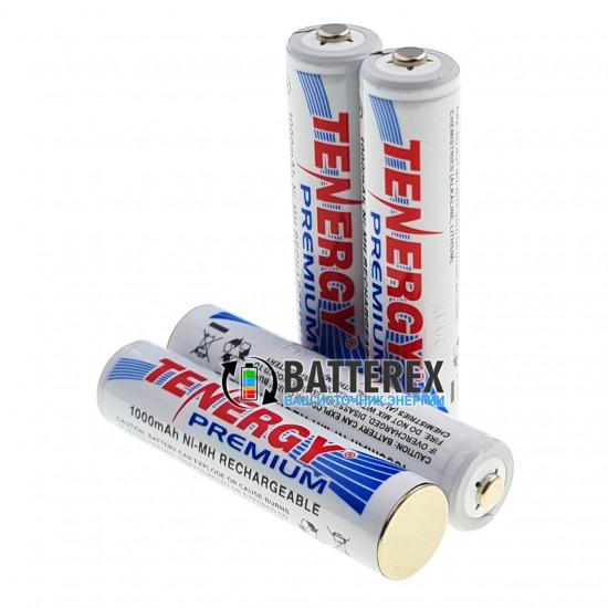 ААА Tenergy Premium 1000 mah - минипальчиковые аккумуляторы высокой ёмкости