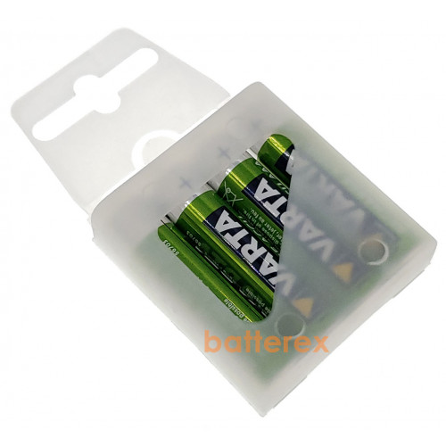 AAA Varta 800 mah Ready-to-Use - 4 шт. пластиковом кейсе - оригинал