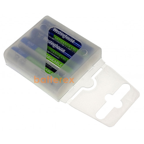 AAA Westinghouse Premium 800 mah - 4 аккумулятора в пластиковом кейсе