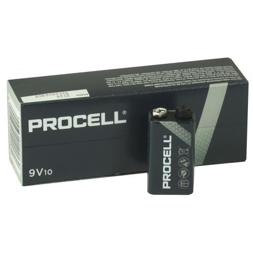 Батарейки Крона Duracell Procell Alkaline 9V - упаковка 10 шт.