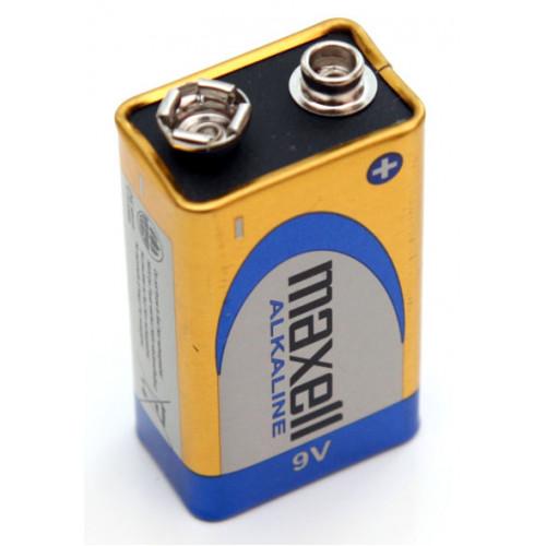 Батарейка Крона 9V 6F22 6LR61 Maxell Alkaline