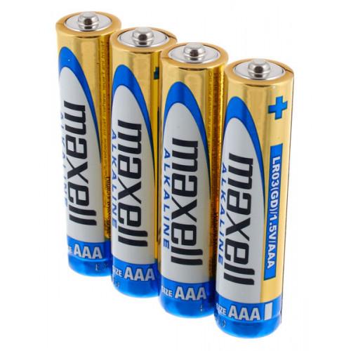 Батарейки АAА Maxell Alkaline LR03 1.5V - 4 шт. в блистере