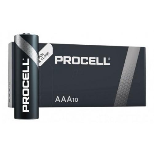 Батарейки АAА Duracell Procell Alkaline LR03 1.5V - упаковка 10 шт.