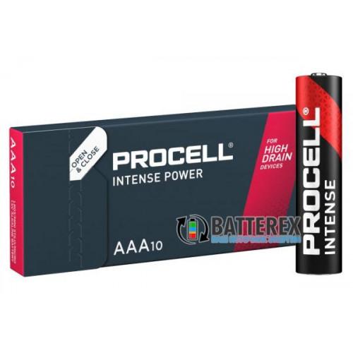 Батарейки АAА Duracell Procell Intense Alkaline LR03 1.5V - упаковка 10 шт.