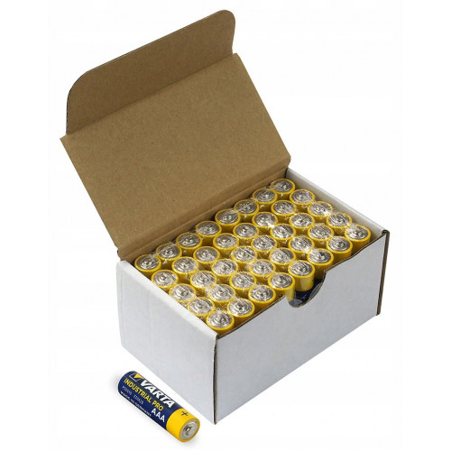 Батарейки ААА Alkaline Varta Industrial Pro LR03 1.5V - упаковка 40 шт - оригинал, Германия